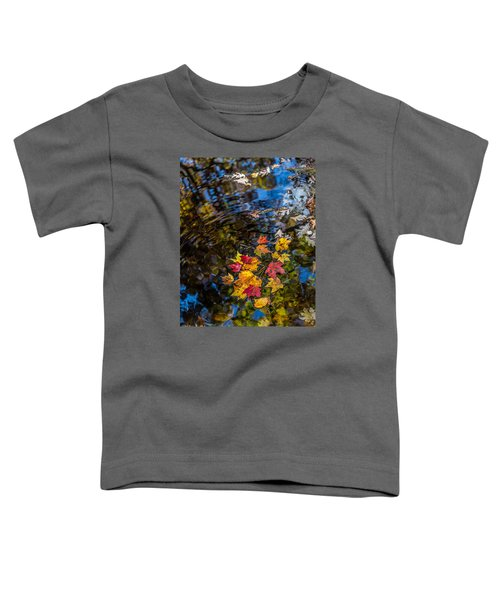 Fall Reflection - Pisgah National Forest Toddler T-Shirt