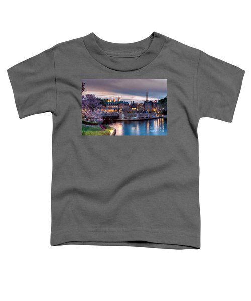 Fall Sunset Of France Toddler T-Shirt