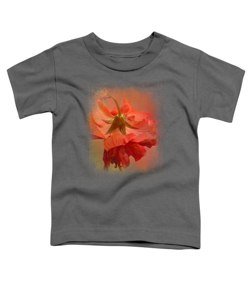 Falling Blossom Toddler T-Shirt by Jai Johnson