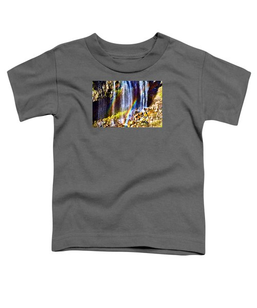 Toddler T-Shirt featuring the photograph Falling Rainbows by Anthony Baatz