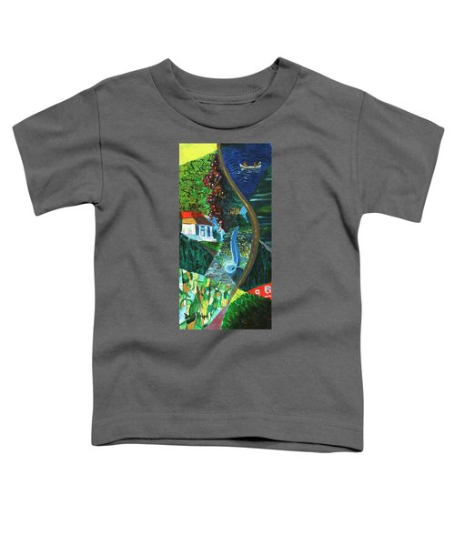 Falls, Fingers And Gorges Toddler T-Shirt