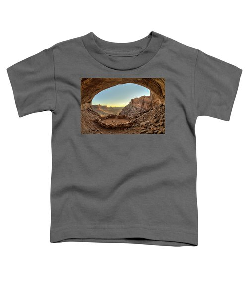 Toddler T-Shirt featuring the photograph False Kiva by Whit Richardson