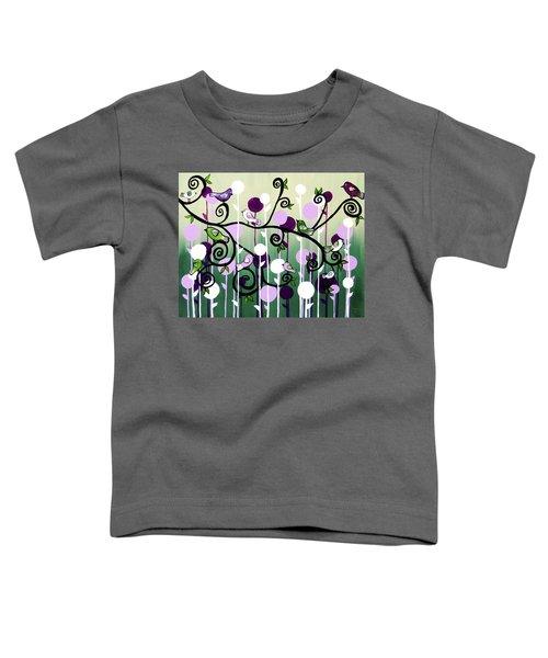 Family Tree Toddler T-Shirt by Teresa Wing
