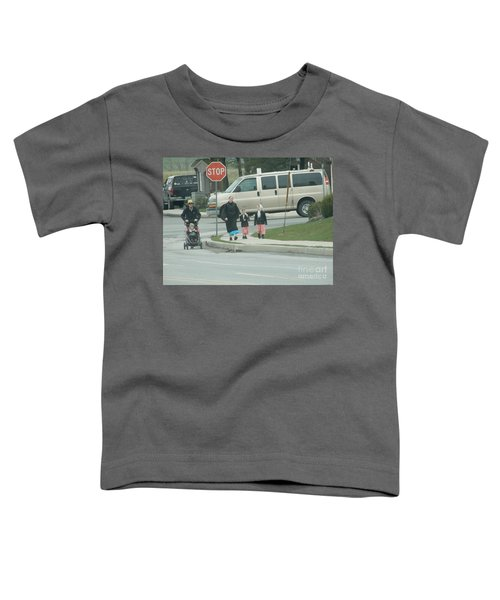 Family Walk Toddler T-Shirt