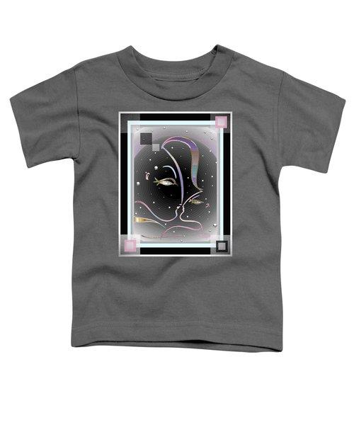 Farewell Mardi Gras Kiss Toddler T-Shirt