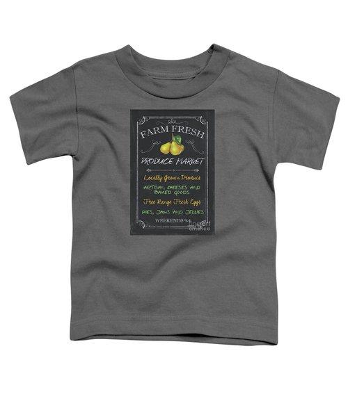 Farm Fresh Produce Toddler T-Shirt