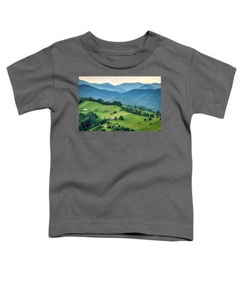 Farm In The Mountains - Romania Toddler T-Shirt