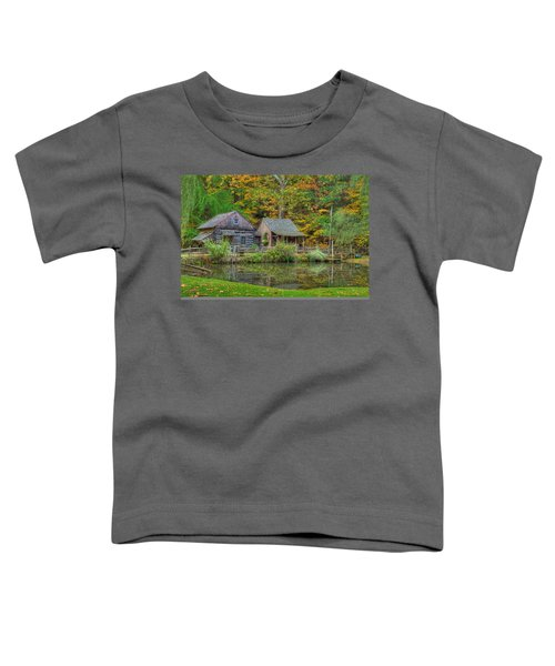 Farm In Woods Toddler T-Shirt
