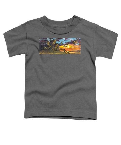 Farm Sunset Toddler T-Shirt