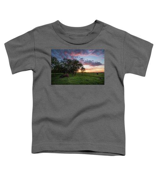 Farm View  Toddler T-Shirt
