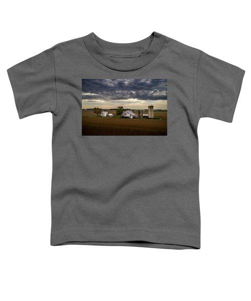 Farmstead Under Clouds Toddler T-Shirt