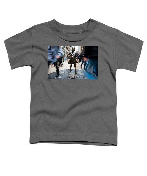 Fearless Girl Toddler T-Shirt