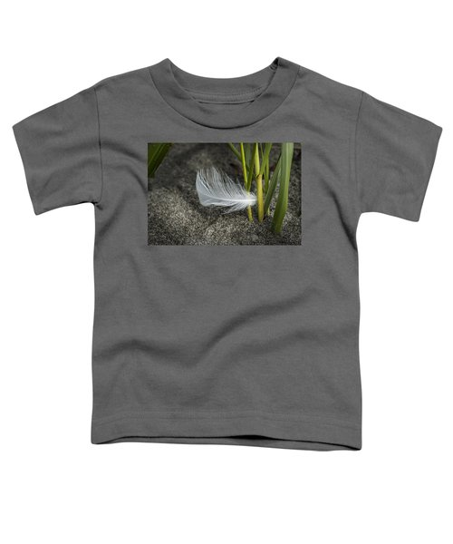 Feather And Beach Grass Toddler T-Shirt