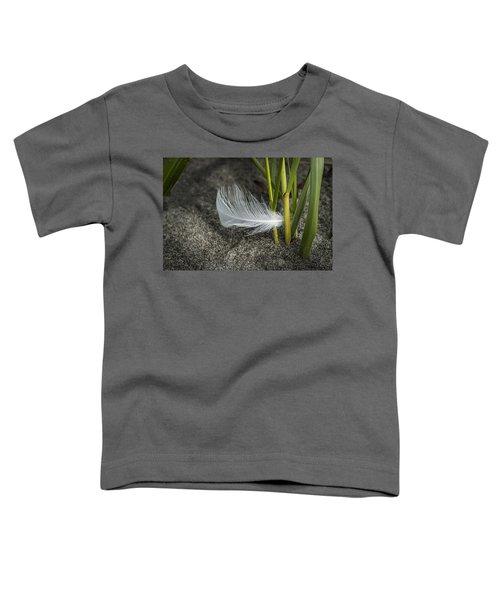 Feather And Beach Grass Toddler T-Shirt