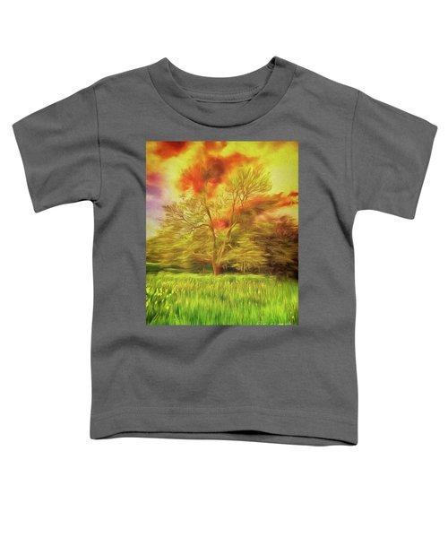 Feel The Love Toddler T-Shirt