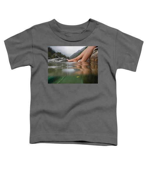 Feet On The Water Toddler T-Shirt