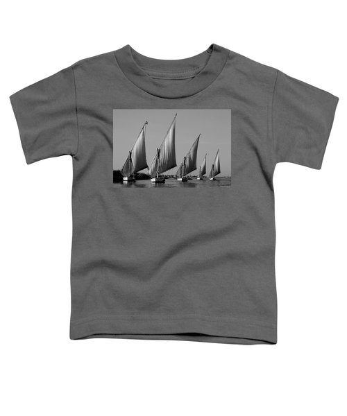 Feluccas On River Nile Toddler T-Shirt