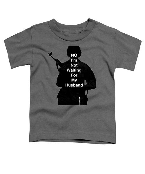 Female Veteran Toddler T-Shirt by Melany Sarafis