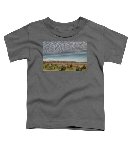 9017 - Fences, Firs And Fall Toddler T-Shirt
