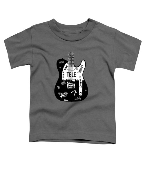 Fender Telecaster 64 Toddler T-Shirt