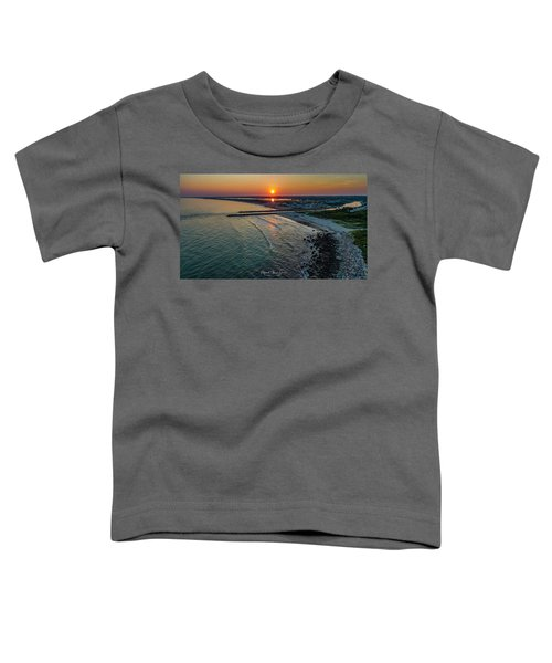 Fenway Beach Sunset Toddler T-Shirt