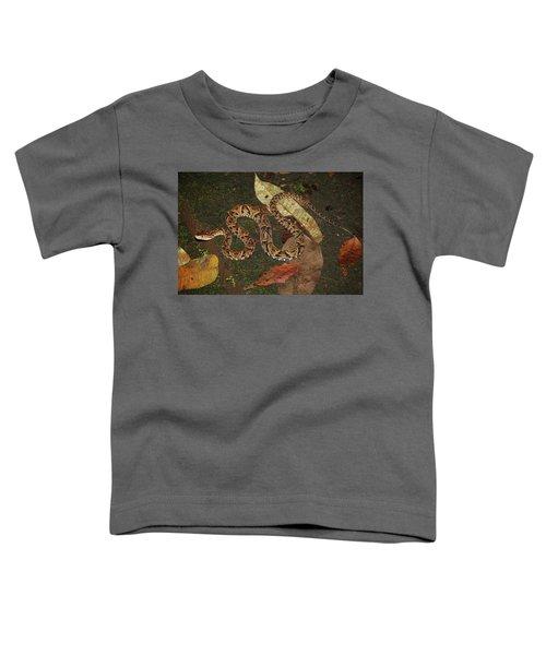 Fer-de-lance, Bothrops Asper Toddler T-Shirt