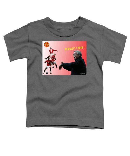 Fergie Time Toddler T-Shirt