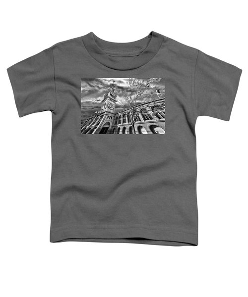 Ferry Building Black  White Toddler T-Shirt