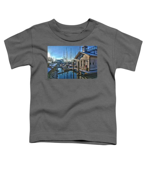 Ferry Harbour In Winter Toddler T-Shirt