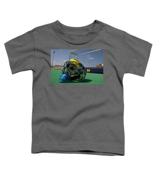 Field Hockey Helmet Toddler T-Shirt