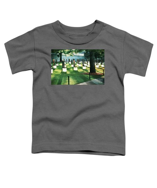 Field Of Empty Chairs Toddler T-Shirt
