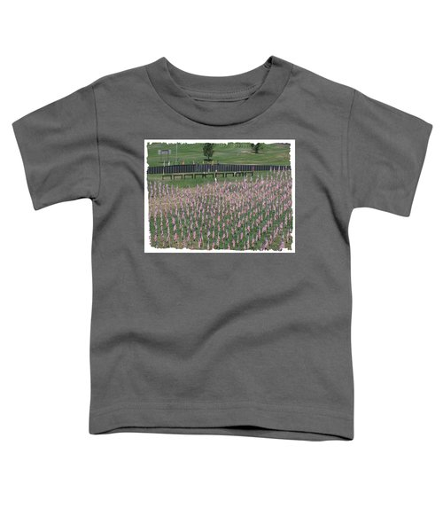 Field Of Flags - Gotg Arial Toddler T-Shirt
