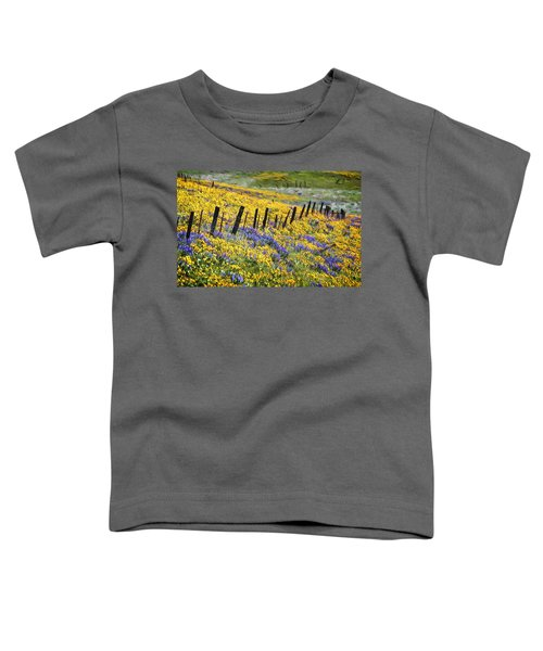 Field Of Gold And Purple Toddler T-Shirt