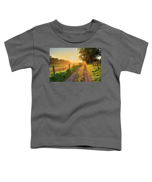 Field Road Toddler T-Shirt