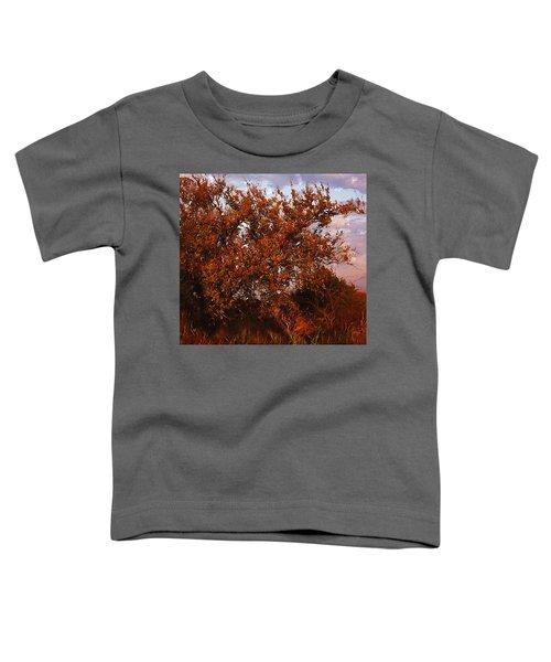 Fiery Elm Tree  Toddler T-Shirt