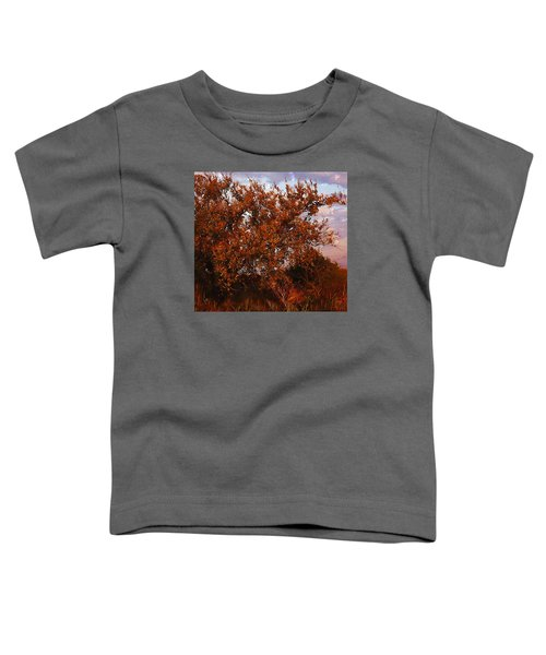 Fiery Elm Tree  Toddler T-Shirt