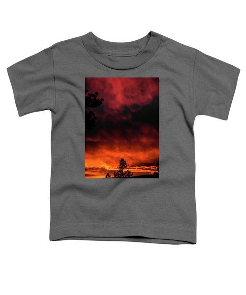 Fiery Sky Toddler T-Shirt