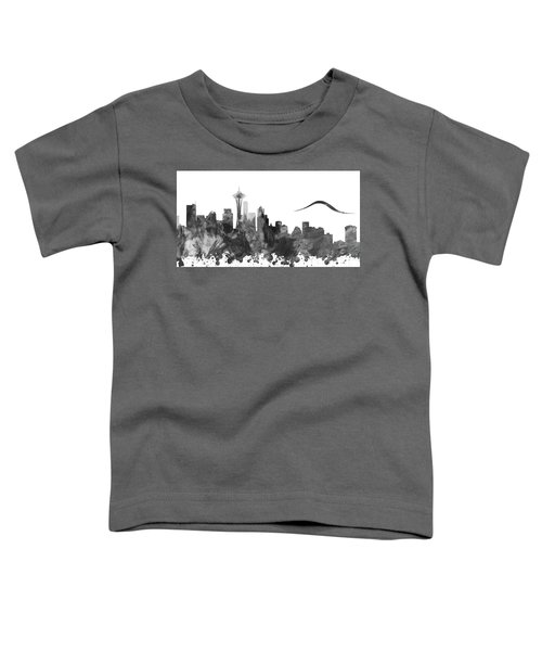 Fifty Shades Of Seattle Grey Toddler T-Shirt