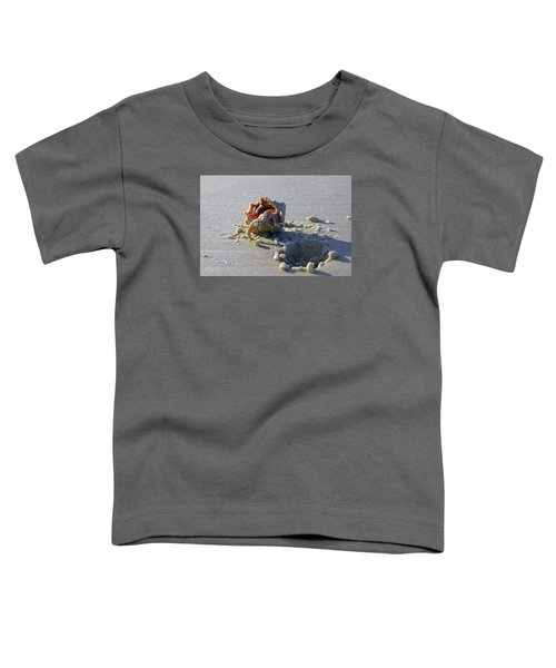 Fighting Conch On The Beach Toddler T-Shirt