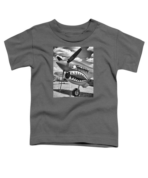 Toddler T-Shirt featuring the photograph Fighting Tiger by Ricky L Jones