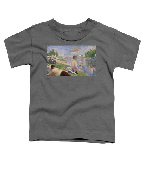 Final Study For Bathers At Asnieres Toddler T-Shirt