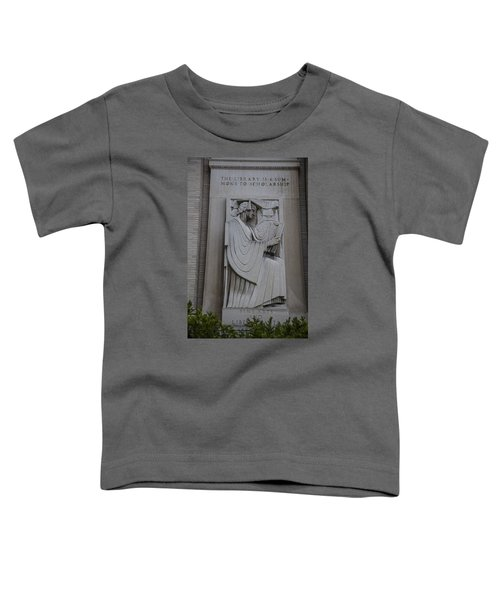 Fine Art Library Penn State  Toddler T-Shirt by John McGraw
