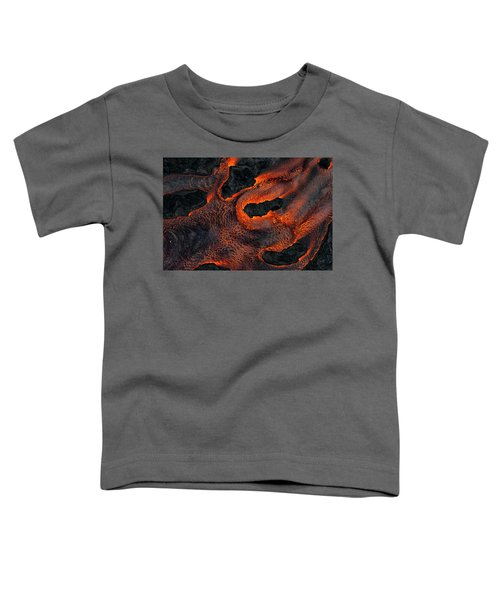 Fingers Of Lava Toddler T-Shirt