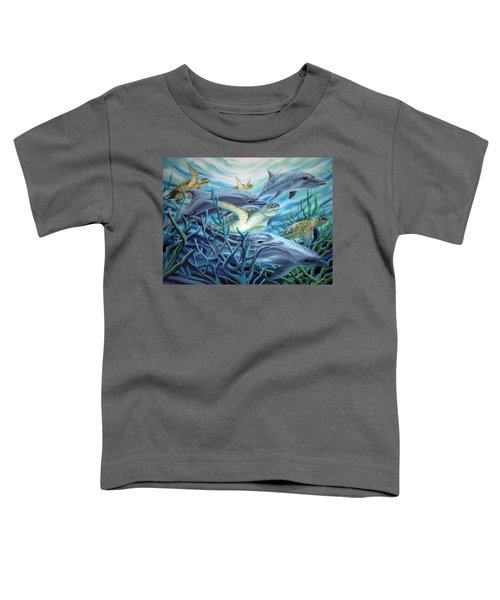 Fins And Flippers Toddler T-Shirt