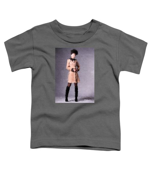 Toddler T-Shirt featuring the digital art Fiona by Nancy Levan