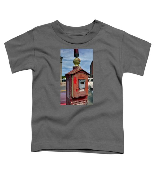 Fire Alarm Box 375 Toddler T-Shirt