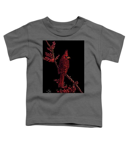 Fire Cardinal Toddler T-Shirt