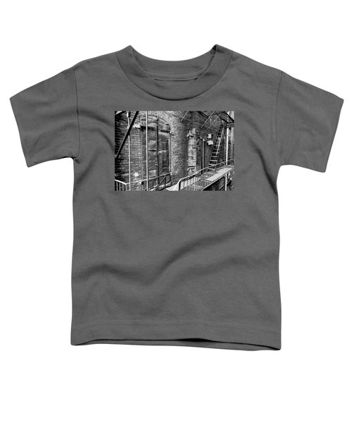 Fire Escape And Doors Toddler T-Shirt