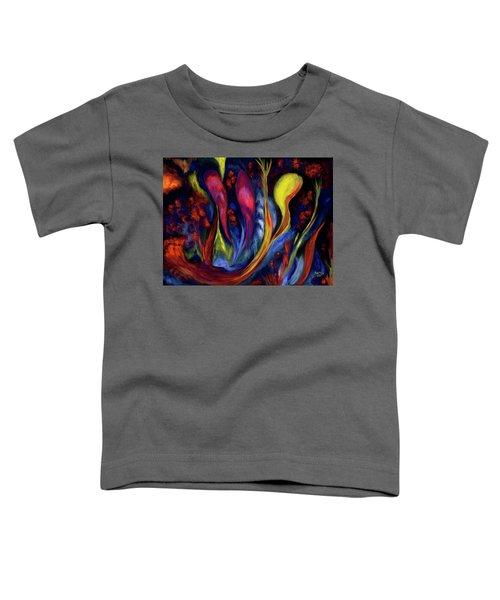 Fire Flowers Toddler T-Shirt