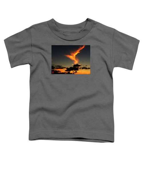 Toddler T-Shirt featuring the photograph Early Evening Over Paros Island by Colette V Hera  Guggenheim